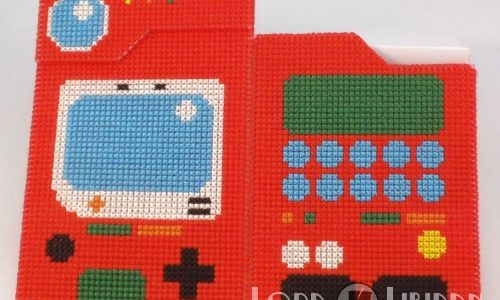 3D Pokedex Cross Stitch by Lord Libidan