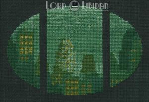 Bioshock Big Daddy Rapture Cross Stitch by Lord Libidan