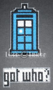 Got Milk Cross Stitch Magnets – Doctor Who by Lord Libidan