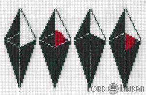 No Man's Sky Logos Cross Stitch by Lord Libidan