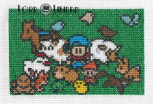 Harvest Moon Family Cross Stitch by Lord Libidan