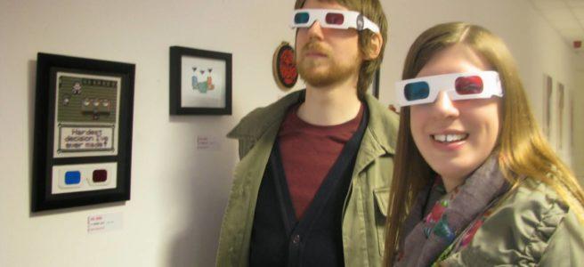 Lord Libidan's 3D Cross Stitch at the Mr X Stitch Exhibition in Bedford (source: mrxstitch.com)