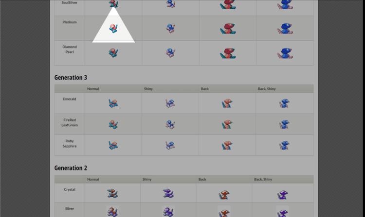 Finding Porygon sprites online (source: aimecx.com)