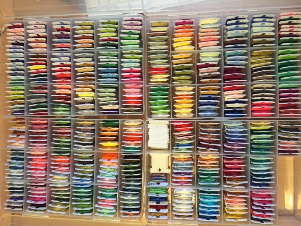 Full set of DMC threads