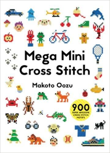mega mini cross stitch book cover