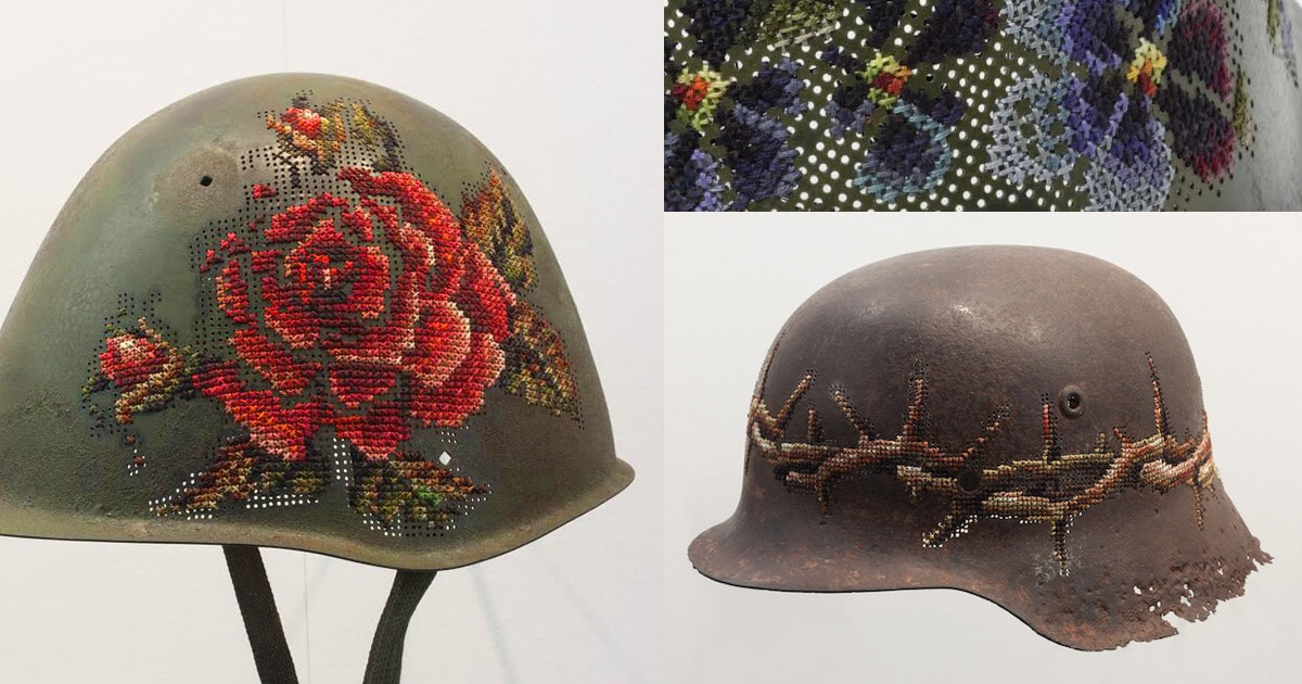 Cross Stitch- Helmets by Severija (source: mrxstitch.com