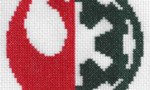 Star Wars Logo Mix Cross Stitch by Lord Libidan