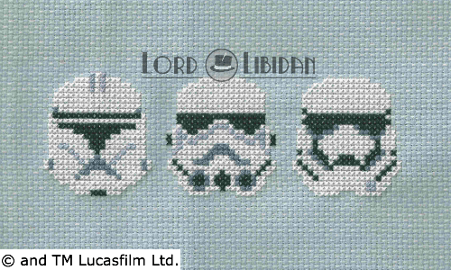 Star Wars Troopers Cross Stitch by Lord Libidan
