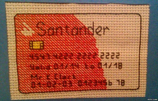 Santander Cross Stitch by Keithstitch (source: Reddit.com)