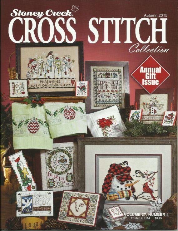 Stoney Creek Cross Stitch magazine cover