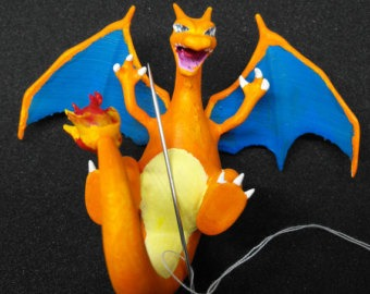 Charizard Needle Keeper by MyWifesAVelociraptor (source: Etsy)