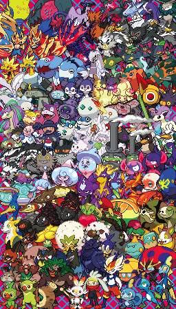 epic pokemon generation 7 cross stitch pattern