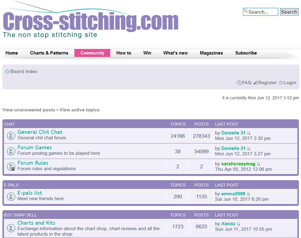 cross-stitching.com cross stitch forum (source: cross-stitching.com)