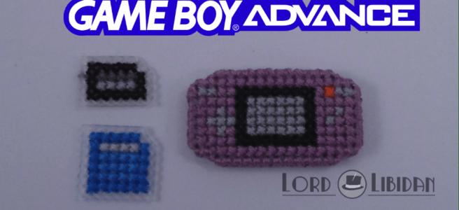 gameboy advance cross stitch by Lord Libidan