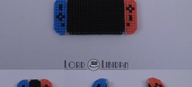 nintendo switch cross stitch by Lord Libidan