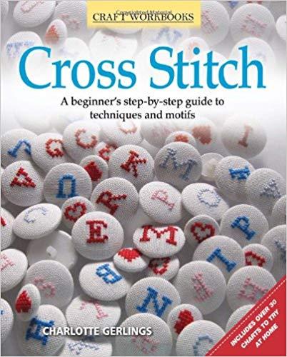 cross stitch beginners book cover