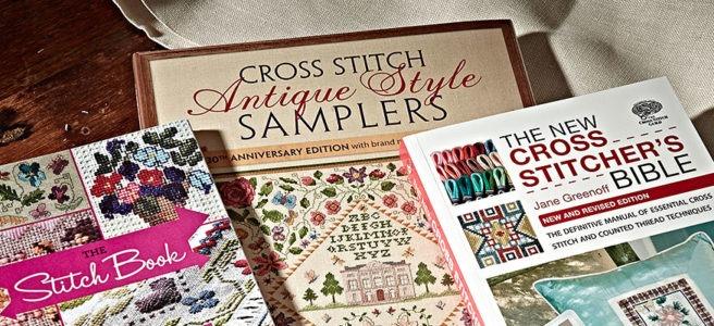 cross stitch books (source: crossstitchguild.com)