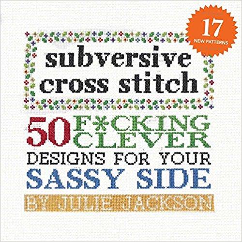 subversive cross stitch book cover