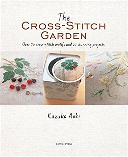 the cross stitch garden book cover