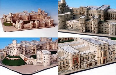 3D Windsor Castle Cross Stitch by The Nutmeg Company