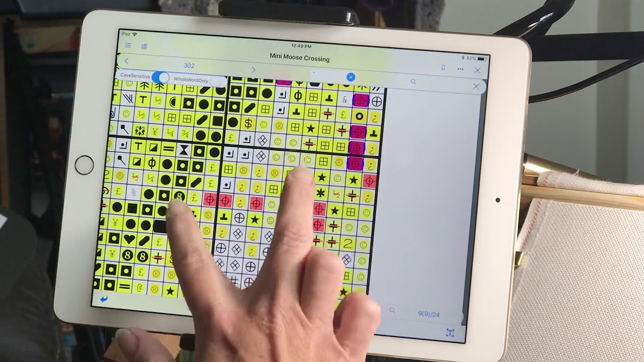 What's the best mark up app for cross stitch? | Lord Libidan