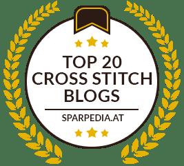 Top 20 Cross Stitch Blogs by sparpedia.au