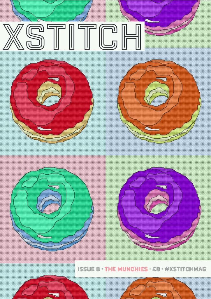 xstitch magazine issue 8 cover