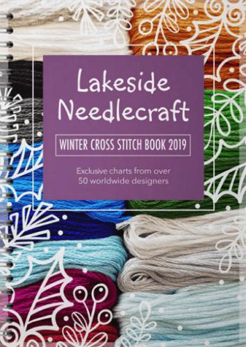 Lakeside Needlecraft Winter Cross Stitch Book featuring Lord Libidan (Source: lakesideneedlecraft.co.uk)