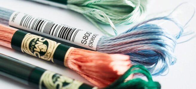 DMC satin threads (Source: DMC.com)