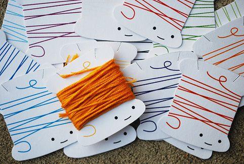 Printable bobbins (Source: Pinterest)