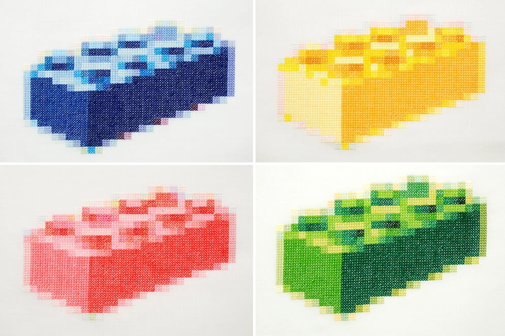 Nils Viga Hausken Cross Stitched Lego (Source: collabcubed)