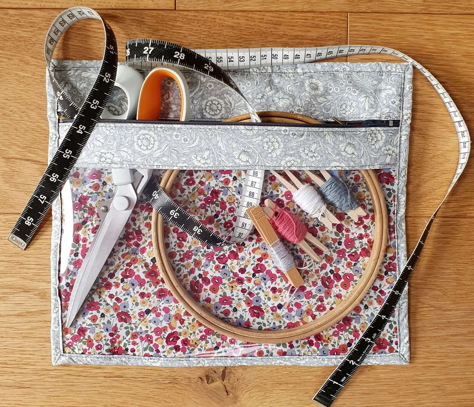 Sewing Project Bag by TheTinySewingCompany (Source: Etsy)