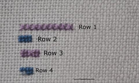Cross Stitch and Petit Point examples (Source: crosssitchclub.com)
