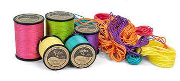 Anchor Embroidery Thread on spools (Source: Milled.com)